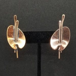 Renoir vintage copper palette clip-on earrings 🎨